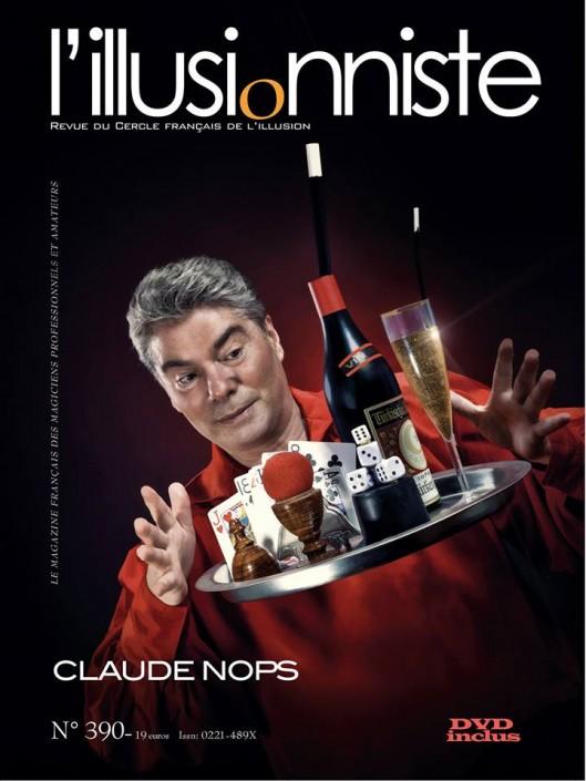 Couverture magazine du photographe Thomas Muselet avec claude nops
