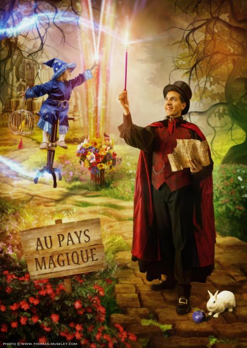 photo magie pour enfants