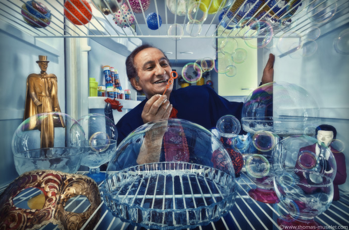 il fait des bulles dans un frigo