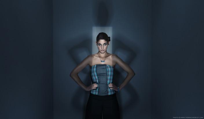 photo de femme avec un éclairage profoto génial