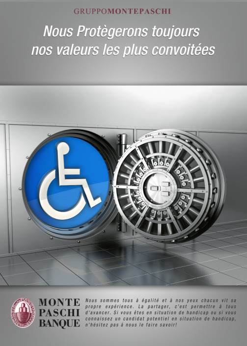 photo d'un coffre fort pour le handicap