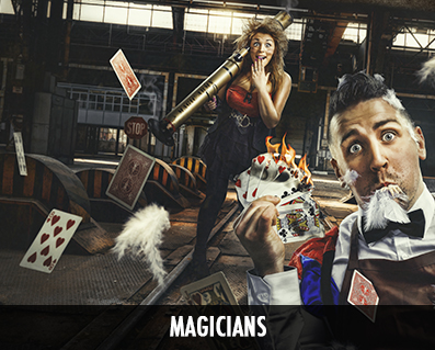 photo de magiciens originales