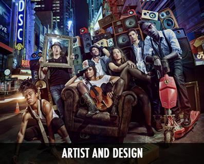 groupe de musique photo originale artist et design