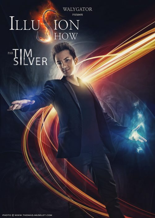 photo du magicien tim silver 2016